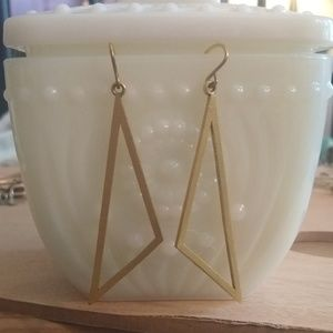 ALEX AND ANI Geometric Gold Earrings